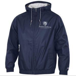 Johns Hopkins University Zip Hoodie Jacket